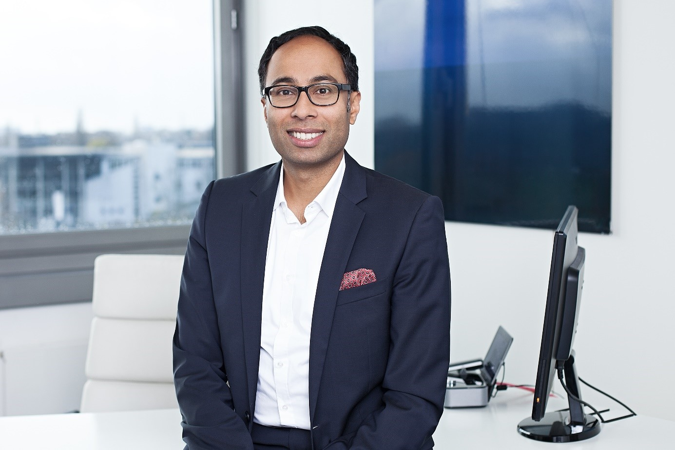 Image: Bino Mathew, Director of Marketing & Sales
